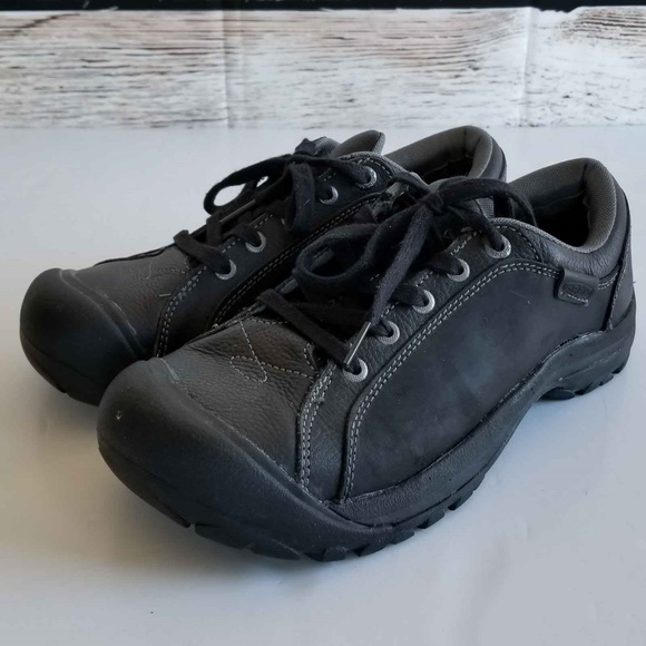 7bc10227562 Keen Shoes | Briggs Black Leather Oxford Shoe 95 | Poshmark